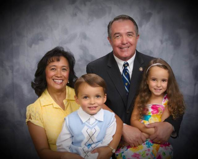 """The only thing bigger than time is family; and the only thing bigger than family is God."" -Representative Trent Franks"