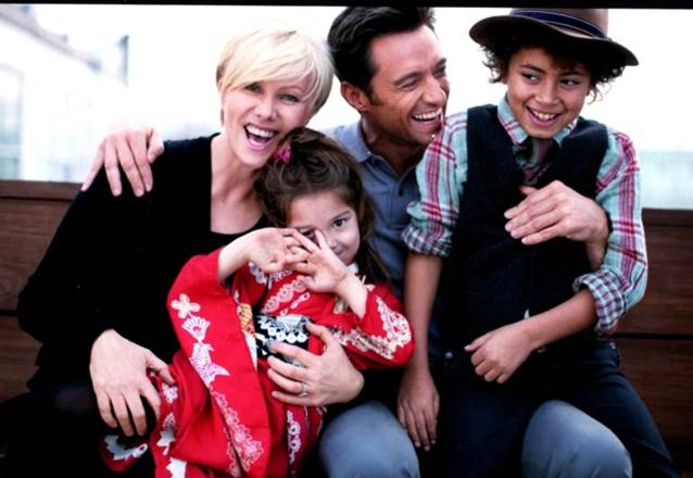 """My Family makes me smile and laugh and cry and dance and want to be the best I can be. They are my world, my joy and my greatest love."" -Deborra-lee Furness"