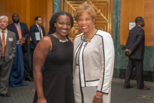 Rep. Brenda Lawrence and FYI Princess Harmon